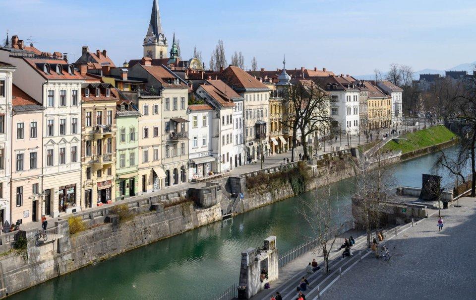 Hotel Zlata Ladjica Ljubljana - room 41 River view